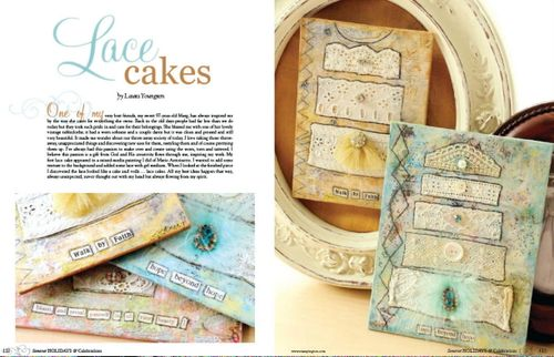Lace Cakes - published