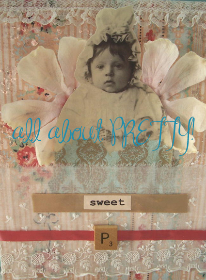 collage - Sweet pea